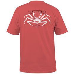 Salt Life Mens King Crab Short Sleeve T-Shirt