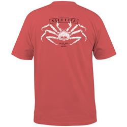 Mens King Crab Short Sleeve T-Shirt