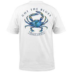Salt Life Mens Short Sleeve Got The Blues T-Shirt
