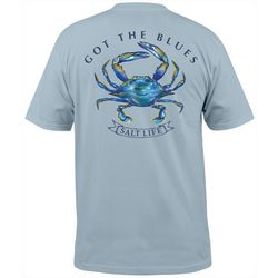 Salt Life Mens Short Sleeve Got The Blues T-Shirt
