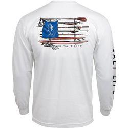 Salt Life Mens Salt Quiver Long Sleeve T-Shirt