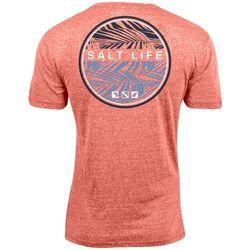 Salt Life Mens Iconic Palms Tri-Blend T-Shirt