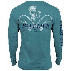 Salt Life Mens Static Hooks Long Sleeve T-Shirt