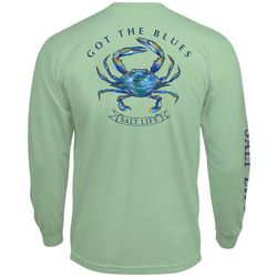 Salt Life Mens Got The Blues Long Sleeve T-Shirt