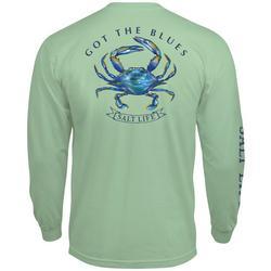 Mens Got The Blues Long Sleeve T-Shirt