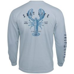 Salt Life Mens Long Sleeve Lobster T-Shirt