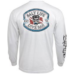 Salt Life Mens Long Sleeve Dive Bar T-Shirt