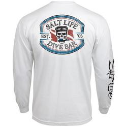 Mens Long Sleeve Dive Bar T-Shirt