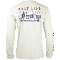 Salt Life Mens Long Sleeve Buoys T-Shirt