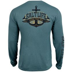 Salt Life Mens Seas The Day Performance Long Sleeve T-Shirt