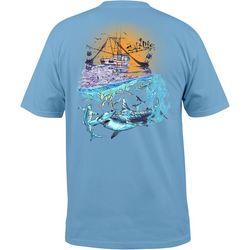 Salt Life Mens Shark Pocket T-Shirt