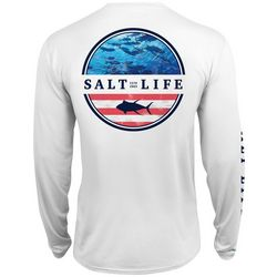 Salt Life Mens Respect Performance Long Sleeve T-Shirt