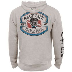 Salt Life Mens Heather Dive Bar Hoodie