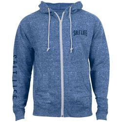 Salt Life Heather Front Zip Hoodie
