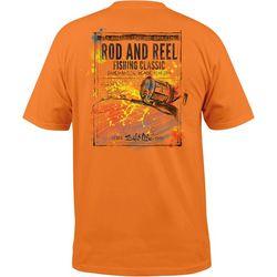 Salt Life Mens Rod & Reel Short Sleeve T-Shirt