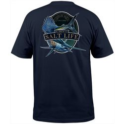 Salt Life Mens Sailfish Brew Short Sleeve T-Shirt