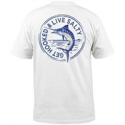 Salt Life Mens Marlin Stamp Short Sleeve T-Shirt