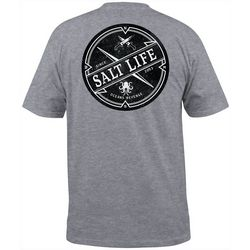 Salt Life Mens Oceans Revenge Short Sleeve T-Shirt
