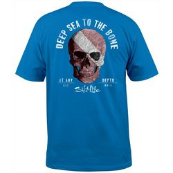 Salt Life Mens Deep Sea To The Bone Short Sleeve T-Shirt