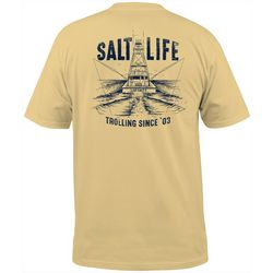Salt Life Mens Trolling Club Short Sleeve T-Shirt