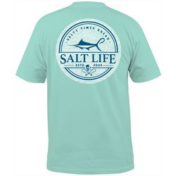 Salt Life Mens Forecast Short Sleeve T-Shirt