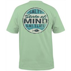 Salt Life Mens Salty State Of Mind T-Shirt