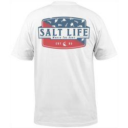Salt Life Mens Worth The Hunt Short Sleeve T-Shirt