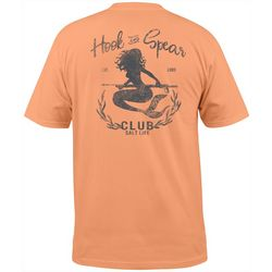 Salt Life Mens Hook & Spear Mermaid Short Sleeve T-Shirt