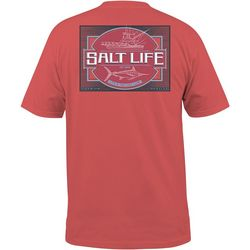 Salt Life Mens Cast Line Short Sleeve T-Shirt