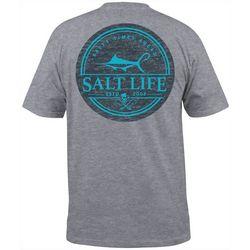 Salt Life Mens Forecast Heathered Short Sleeve T-Shirt