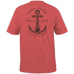 Salt Life Mens High Tides Short Sleeve T-Shirt