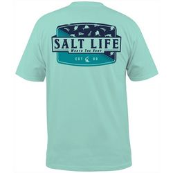 Salt Life Mens Worth The Hunt Short Sleeve T-Shirt