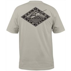 Salt Life Mens Diamond Marlin Short Sleeve T-Shirt