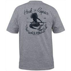Mens Hook & Spear Mermaid Heathered T-Shirt