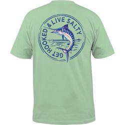 Mens Marlin Stamp Short Sleeve T-Shirt