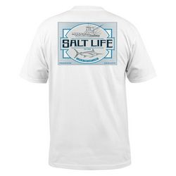 Salt Life Mens Cast Lane Charter T-Shirt
