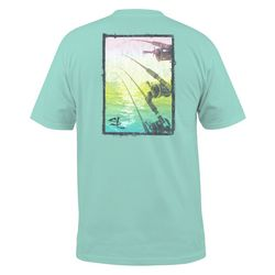 Salt Life Mens Surreal Reels Pocket T-Shirt