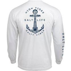 Salt Life Mens High Tides Long Sleeve Shirt