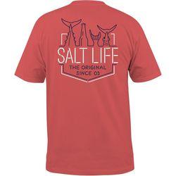 Salt Life Mens Neon Tails T-Shirt