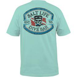 Salt Life Mens Dive Bar T-Shirt