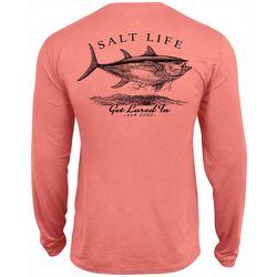 Salt Life Mens Get Lured In Performance Long Sleeve T-Shirt