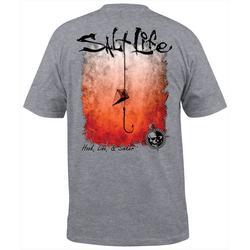Mens Hook Line & Sinker Fade T-Shirt