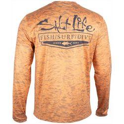 Salt Life Mens Ocean Quest Performance Long Sleeve T-Shirt
