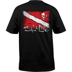 Salt Life Mens Dive Flag T-Shirt