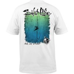 Salt Life Mens Hook Line and Sinker Logo