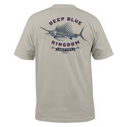 Salt Life Mens Deep Blue Short Sleeve T-Shirt
