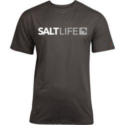 Salt Life Mens Modern Marlin Heathered SLX UVapor T-Shirt