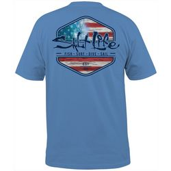 Salt Life Mens Short Sleeve Ameriseas T-Shirt