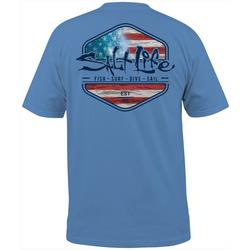 Mens Short Sleeve Ameriseas T-Shirt