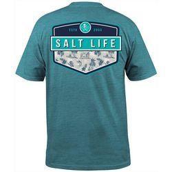 Salt Life Mens Island Breeze Badge Short Sleeve